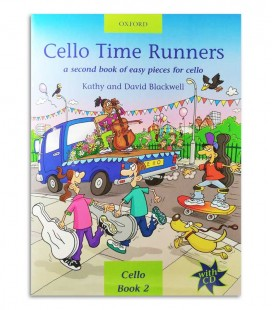 Foto da capa do livro Blackwell Cello Time Runners Book 2 com CD