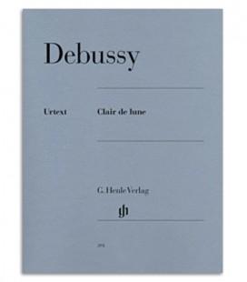 Foto da capa do livro Debussy Raio de Luar HVE21271A