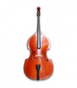Double Bass Kreutzer Solid Top School 1/2 Bow and Bag