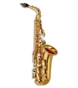Saxófono Alto Yamaha YAS-280 Estándar Dorado Mi bemol Fá sostenido Agudo con Estuche