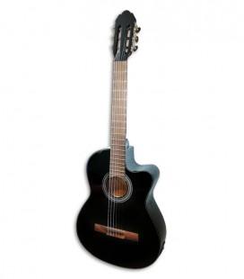 Foto de la Guitarra Clásica VGS Student Negra con Pickup