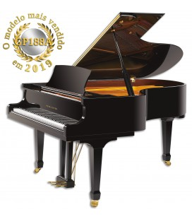 Pearl River Grand Piano GP188A PE Professional Grand Black Polish