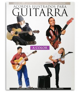 Foto da capa do livro Acordes Ilustrados para Guitarra Mais de 400 MSLAM98200