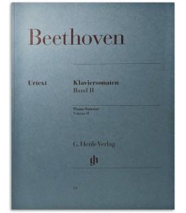 Foto da capa do livro Beethoven Piano Sonatas Vol 2 HVE22028A