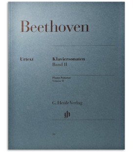 Photo of the Beethoven Piano Sonatas Vol 1 HVE22028A book cover