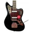 Foto del cuerpo de la Guitarra Eléctrica Fender Squier Classic Vibe 70S Jaguar IL Black