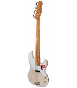 Guitarra Baixo Fender Squier Classic Vibe 50S Precision Bass MN White Blonde