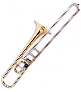 Trombone de Varas John Packer JP138 Dourado Si Bemol/Dó Vara Curta com Estojo