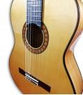 Photo detail of the Guitarra Flamenca Alhambra 10 FC body