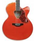Foto do tampo da Guitarra Eletroac炭stica Gretsch G5022CE Rancher Jumbo Savannah Sunset