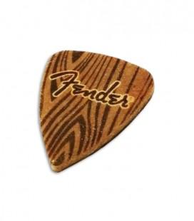 Foto de la Púa Fender para Ukulele en Feltro con el logo