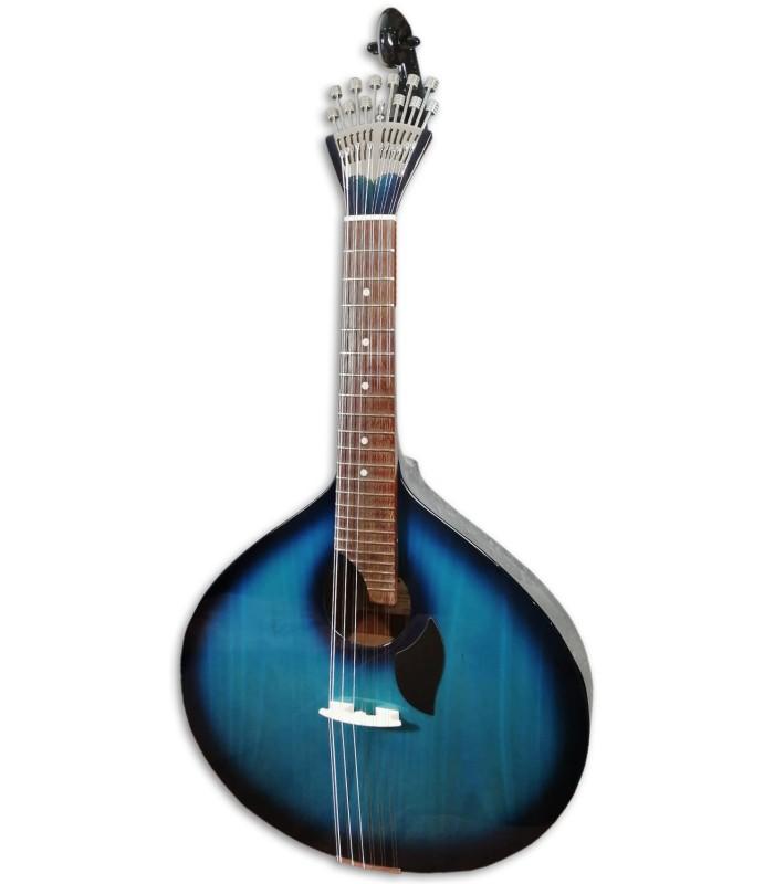 Foto da Guitarra Portuguesa Artimúsica GPBBL Modelo Lisboa Blueburst Base Tampo Tília Fundo Acácia