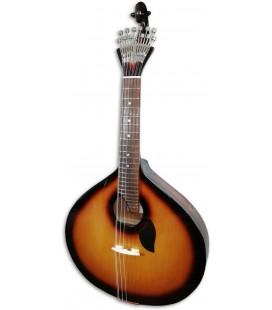 Guitarra Portuguesa Artimúsica GPSBL Modelo Lisboa Sunburst Base Tapa Tílo Fondo Acacia Blueburst