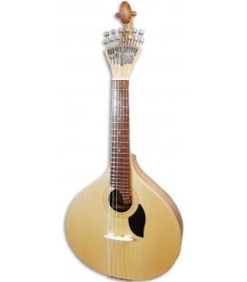 Guitarra Portuguesa Artimúsica GPBASELCAD Modelo Lisboa Tapo Tilo Fondo Acacia