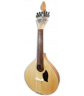Guitarra Portuguesa Artimúsica GPBASECCAD Modelo Coimbra Tapa Tilo Fondo Acacia