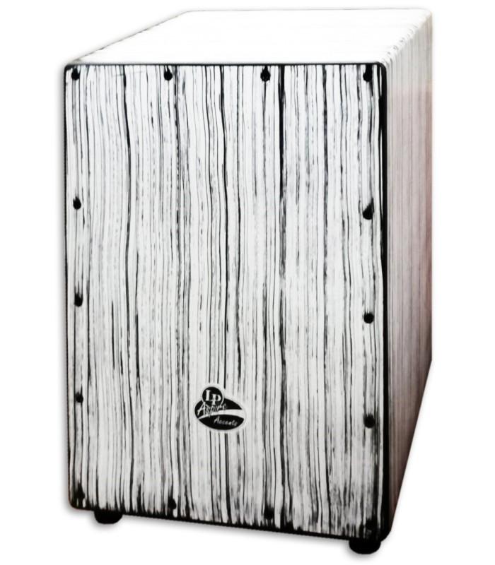 Photo of the Cajon LP Aspire LPA1332-WS Accents White Streak