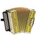 Concertina Hohner Vienna 2915 8 Baixos 2 Vozes GC