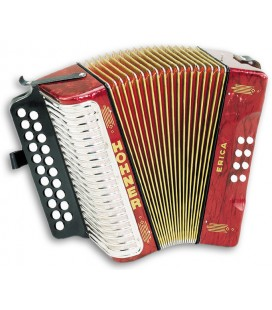 Photo of the Concertina Hohner Erica 8 Basses 2 Voices GC