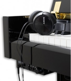 Foto del sistema Adsilent para piano vertical