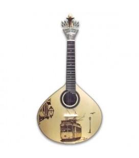 Guitarra Portuguesa APC GF PY LS Pirogravura Lisboa com Estojo