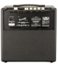 Back photo of the Bass Amplifier Fender Rumble LT25