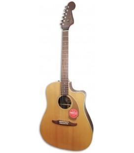 Guitarra Electroac炭stica Fender Redondo Player Natural
