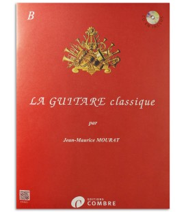 Photo of another sample of the Mourat La Guitare Classique Vol B book