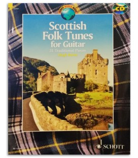 Photo of a sample of the Scottish Folk Tunes for Guitar
