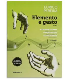 Foto da capa do Método de Guitarra Elemento e Gesto Eurico Pereira 2ª Edição