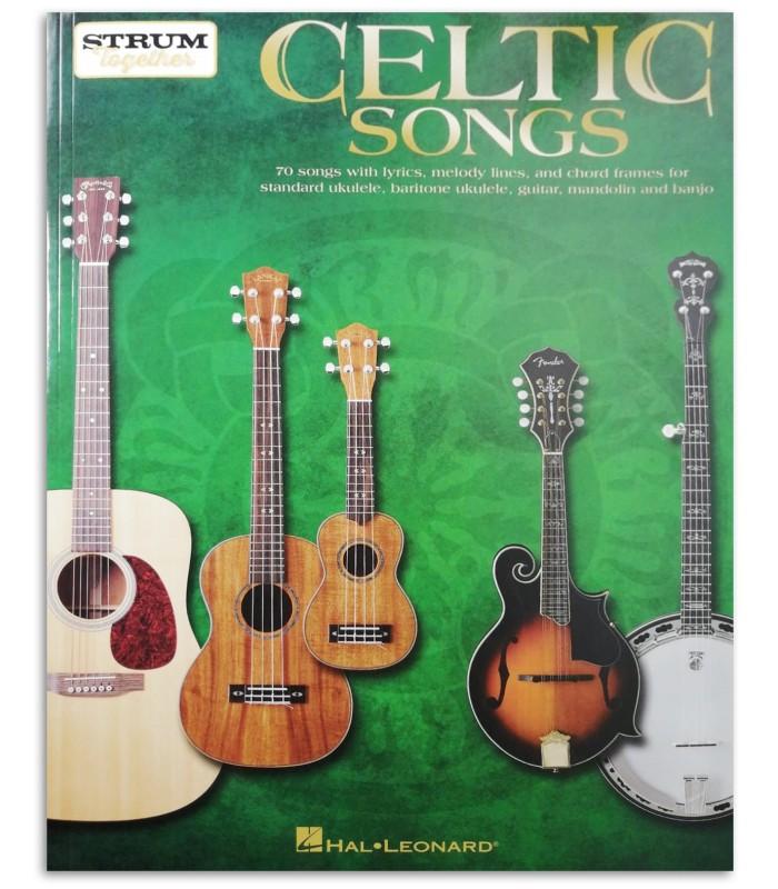 Foto da capa do livro Celtic Songs Strum Together Guitar