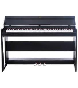 Piano Digital Yazuky YM-A02 88 Teclas Preto 3 Pedales