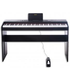 Piano Digital Yazuky YM-A15 88 Teclas 1 Pedal Preto