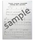 Foto de uma amostra do Livro Ray Charles The Piano Transcriptions