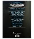 Foto da contracapa do Livro Ray Charles The Piano Transcriptions