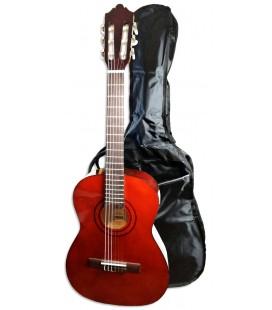 Foto de la Guitarra Clásica Ashton modelo SPCG-34AM con la funda