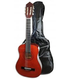 Foto de la Guitarra Clásica Ashton modelo SPCG-12TAM con la funda