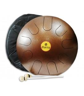 Foto do Metta Drum LP modelo Dharma 16 LPD0616 com batentes e saco