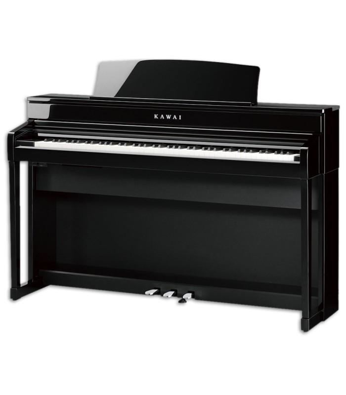 Foto do Piano Digital Kawai modelo CA79 PE