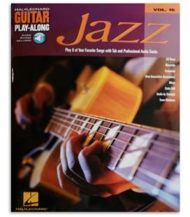 Amostra do conteúdo do livro Jazz for Guitar Play Along 16