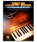 Foto de la portada del libro First 50 Country Songs You Should Play On the Piano
