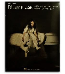 Foto da capa do livro Billie Eilish When We All Fall Asleep, Where Do We Go? for Easy Piano