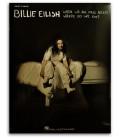 Foto da capa do livro Billie Eilish When We All Fall Asleep, Where Do We Go? for Easy Piano