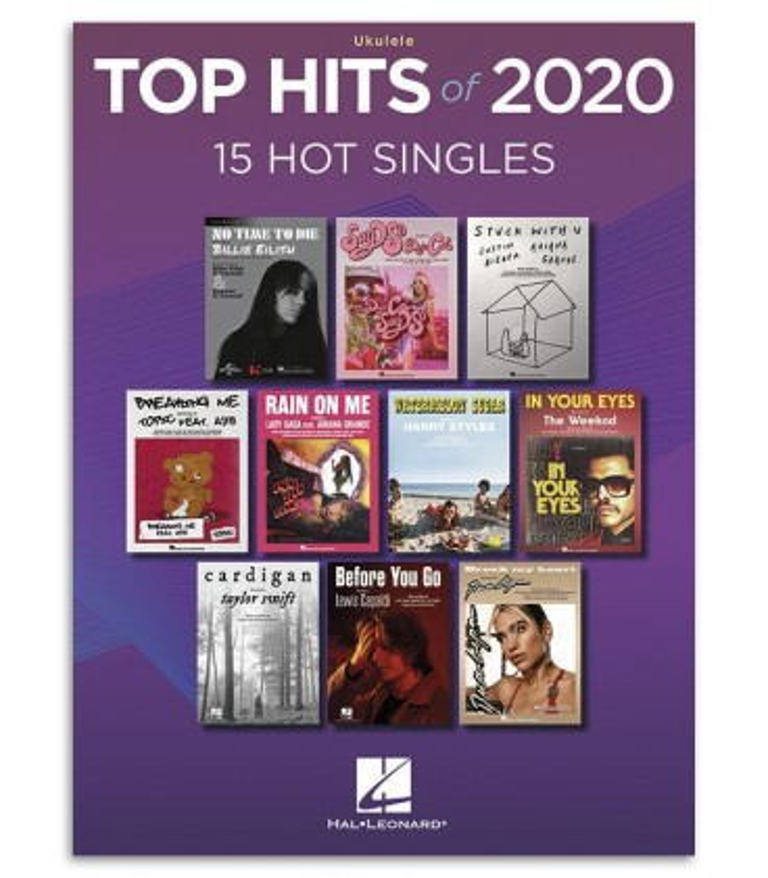 Foto da capa do livro Top Hits 2020 Ukulele