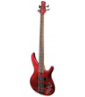 Guitarra Bajo Yamaha TRBX304 CAR 4 Cuerdas Candy Apple Red