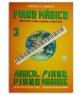 Eurico Cebolo PM 3 Método Piano Mágico No 3 com CD