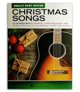Foto de la portada del libro Christmas Songs Really Easy Guitar