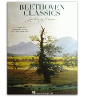 Foto de la portada del libro Beethoven Classics for Easy Piano