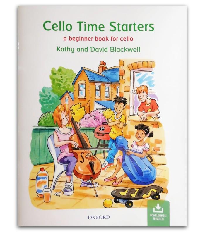 Foto da capa do livro Blackwell Cello Time Starters