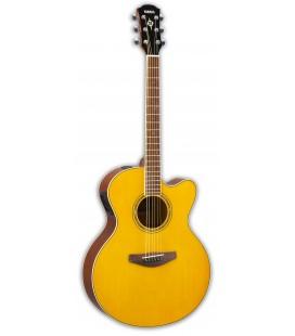 Foto da Guitarra Eletroacústica Yamaha modelo CPX600 VT