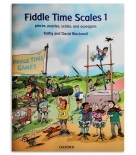 Foto da capa do livro Blackwell Violin Fiddle Time Scales Book 1
